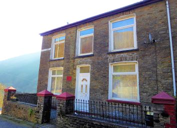 Thumbnail 4 bed end terrace house for sale in Bryn Cottages, Pontyrhyl, Bridgend.