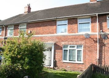 Thumbnail 3 bed terraced house to rent in Pailton Grove, Birmingham