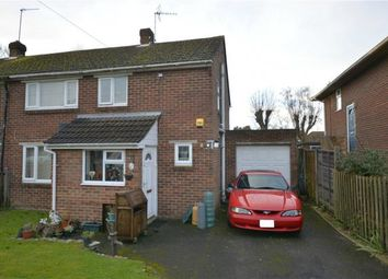 Thumbnail 3 bed semi-detached house for sale in Branksome Close, Chilbolton, Stockbridge