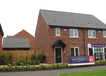 Thumbnail 3 bed semi-detached house to rent in Oakham Road, Littleover, Derby