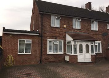 Thumbnail 4 bed semi-detached house for sale in North Hyde Lane, Southall