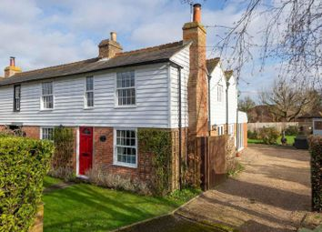 Thumbnail 4 bed semi-detached house for sale in Stonebridge Cottages, Front Road, Woodchurch, Ashford