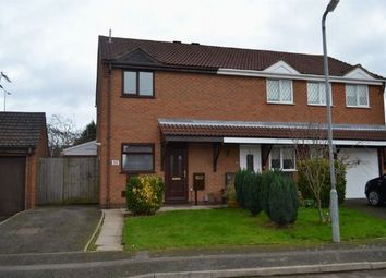 Thumbnail 2 bed semi-detached house to rent in Oakgrove Place, East Hunsbury, Northampton