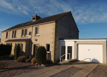 Thumbnail 3 bedroom semi-detached house for sale in Fleurs Place, Elgin