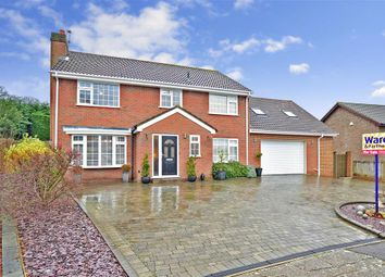 Thumbnail 4 bed detached house for sale in Kirkdale Close, Lords Wood, Chatham, Kent
