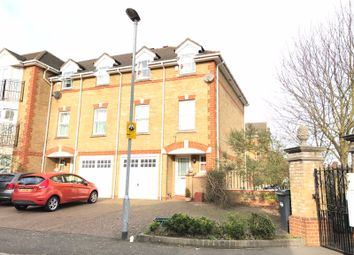 Thumbnail 3 bed town house for sale in Draper Close, Isleworth