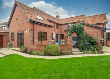 Thumbnail 7 bed detached house for sale in The Street, Thurlton, Norwich