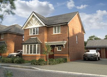 "Thumbnail 4 bed detached house for sale in ""The Hallam"" at Parkers Road, Leighton, Crewe"