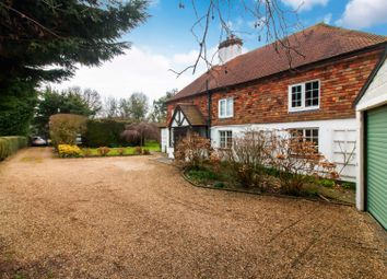 Thumbnail 3 bed detached house for sale in Canterbury Road, Selsted, Dover