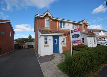 Thumbnail 3 bed semi-detached house to rent in Havanna, Killingworth, Newcastle Upon Tyne