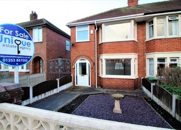 Thumbnail 3 bed end terrace house for sale in Belgrave Road, Poulton-Le-Fylde
