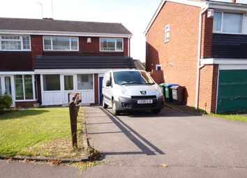 Thumbnail 3 bed semi-detached house to rent in Woodfort Road, Great Barr, Birmingham