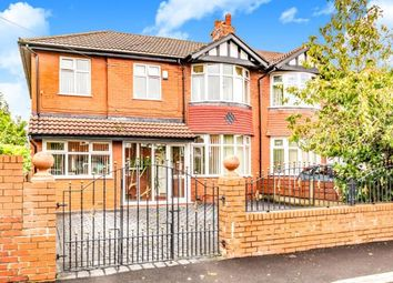 Thumbnail 3 bed semi-detached house for sale in Huncoat Avenue, Heaton Chapel, Stockport, Greater Manchester