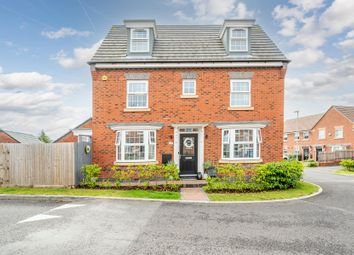 Thumbnail 4 bed detached house for sale in Hughes Road, Dudley