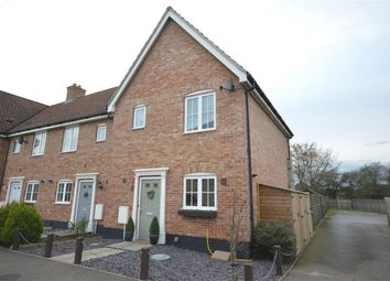Thumbnail 3 bedroom end terrace house for sale in Ryefield Road, Mulbarton, Norwich