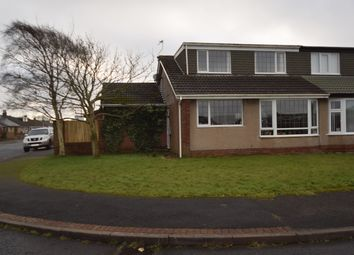 Thumbnail 4 bed semi-detached bungalow for sale in Helvellyn Walk, Barrow-In-Furness, Cumbria
