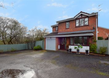 Thumbnail 4 bed detached house for sale in Hollowfields Close, Redditch, Worcestershire