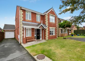 Thumbnail 4 bed detached house for sale in Chalice Close, Muxton