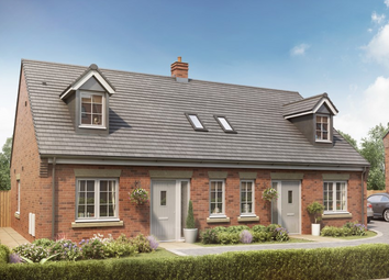 Thumbnail 2 bed semi-detached house for sale in Saredon Gardens, School Lane, Coven, Staffordshire