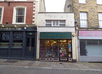 Thumbnail Retail premises for sale in High Street, Gravesend, Kent