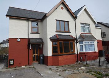 Thumbnail 3 bed semi-detached house to rent in Sloper Road, Cardiff