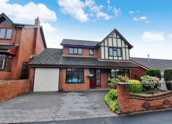 Thumbnail 4 bed detached house for sale in Mosedale Avenue, Lightwood, Longton, Stoke-On-Trent