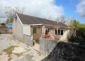 Thumbnail 2 bed detached bungalow for sale in Cwmbach, Whitland