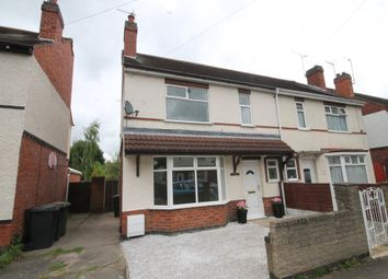 Thumbnail 3 bed semi-detached house for sale in Merevale Avenue, Nuneaton