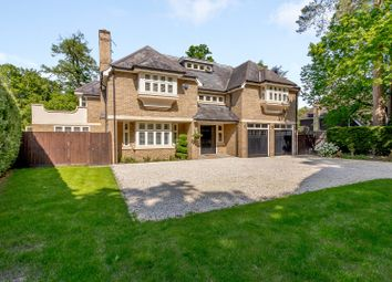 Thumbnail 6 bed detached house for sale in Blackdown Avenue, Pyrford, Woking