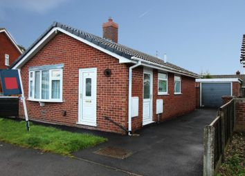 Thumbnail 2 bed detached bungalow for sale in Wheatlands Close, York, Yorkshire, North Riding