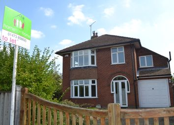 Thumbnail 4 bed detached house to rent in Crofton Road, Ipswich