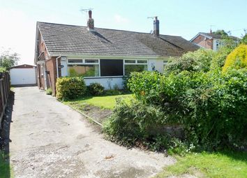 Thumbnail 3 bed semi-detached bungalow for sale in Wettenhall Road, Poole, Nantwich, Cheshire