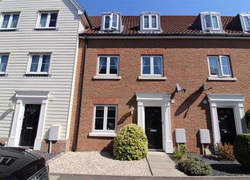Thumbnail 3 bed town house for sale in Meadow Crescent, Purdis Farm, Ipswich