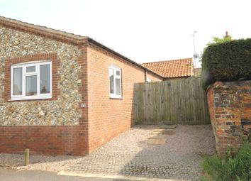 Thumbnail 2 bed semi-detached bungalow for sale in Back Street, Hempton, Fakenham