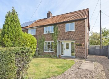 Thumbnail 3 bed semi-detached house for sale in Aire View, Chapel Haddlesey, Selby