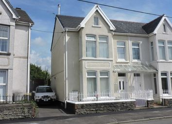 Thumbnail 3 bed semi-detached house for sale in Llysgwyn Terrace, Pontarddulais, Swansea