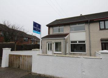 Thumbnail 3 bedroom terraced house to rent in Ballyree Gardens, Bangor
