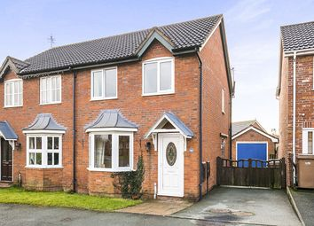 Thumbnail 3 bed semi-detached house for sale in Cabin Lane, Oswestry
