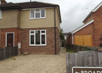 Thumbnail 1 bed semi-detached house to rent in Broadwaters Avenue, Thame