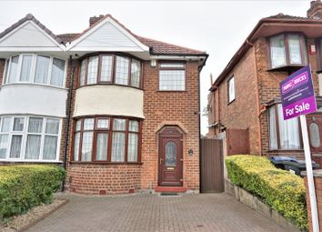 Thumbnail 3 bed semi-detached house for sale in Glenpark Road, Birmingham