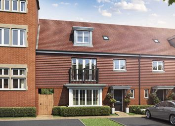 "Thumbnail 4 bed end terrace house for sale in ""The Wren"" at Old Bisley Road, Frimley, Surrey, Frimley"