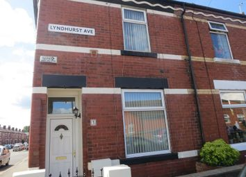 Thumbnail 2 bed terraced house to rent in Lyndhurst Avenue, Denton, Manchester