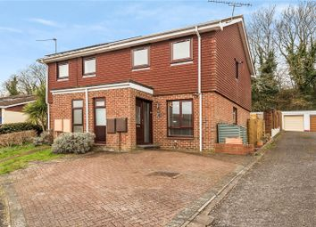Thumbnail 3 bed semi-detached house for sale in Cedar Close, Kings Worthy, Winchester, Hampshire