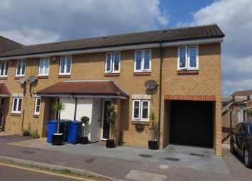 Thumbnail 3 bed end terrace house for sale in Swallow Close, Chafford Hundred, Grays