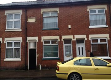 Thumbnail 1 bed terraced house to rent in Battenberg Road, Leicester