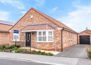 Thumbnail 3 bed detached bungalow for sale in Privet Drive, Thorpe Willoughby, Selby