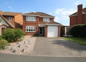 Thumbnail 4 bed detached house for sale in Foxwood Drive, Kirkham, Preston, Lancashire