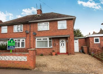 Thumbnail 3 bedroom semi-detached house for sale in Birchtree Avenue, Dogsthorpe, Peterborough