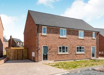 Thumbnail 3 bed semi-detached house for sale in Silver Close, Norton In Hales, Market Drayton