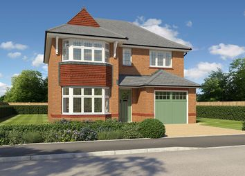 "Thumbnail 3 bed detached house for sale in ""Oxford Lifestyle"" at Cot Hill, Llanwern, Newport"